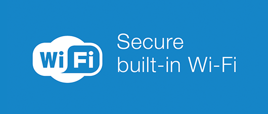 secure built-in wi-fi