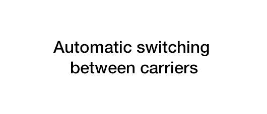 automatic switching between carriers